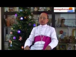 Udupi Bishop Gerald Isaac Lobo deliveres the Christmas Message