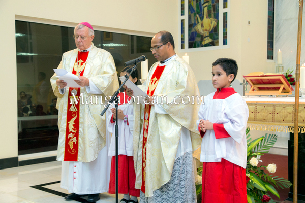 Oman: St Anthony's Catholic Church Sohar - Fr Augustine