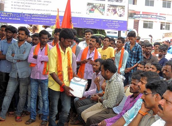 Protest-Moodbidri-18102015 (1)