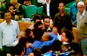 BJP MLAs thrash independent MLA in J&K assembly