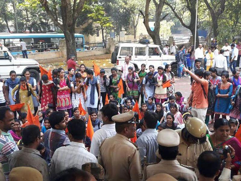 karnataka-protest