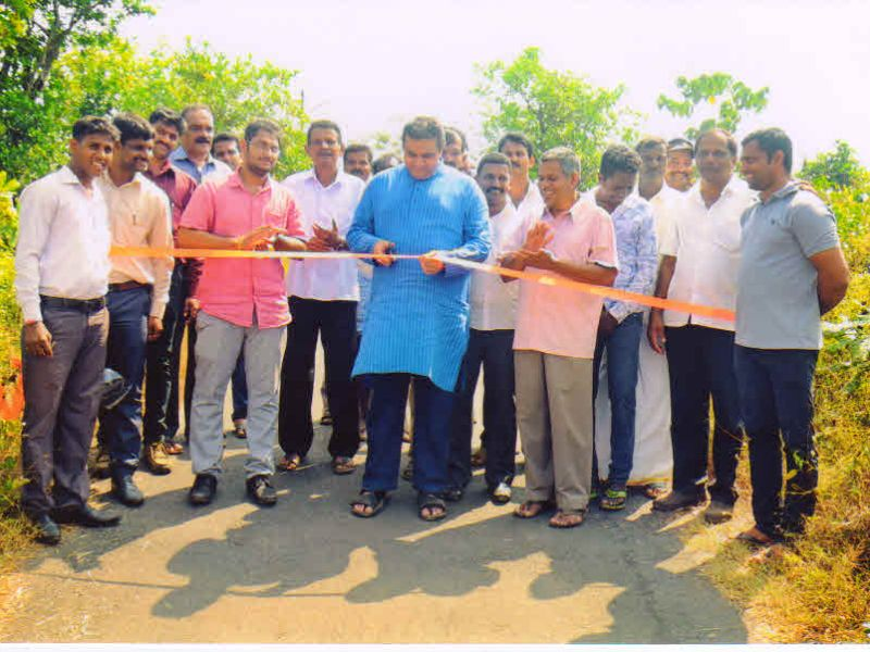 shetty bettu- road- inauguration