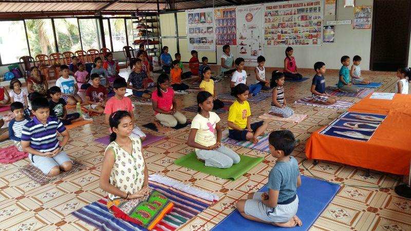 Free Yoga Camp for Children 11.05.16