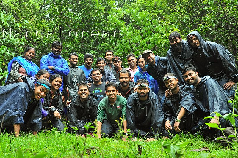 Bisle Frogwatch 2016 Team- Photo by Vineeth Kumar K