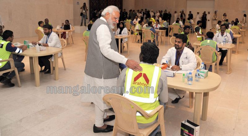 image003modi-doha-medical-workers-camp