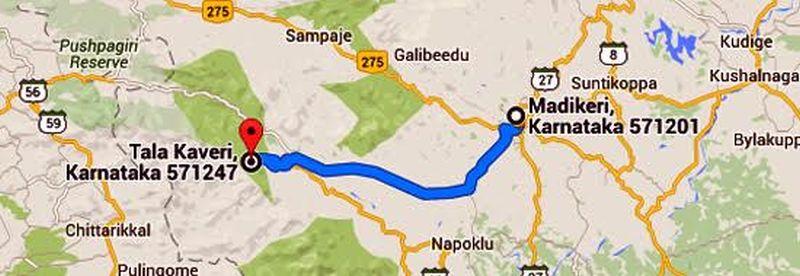 madikeri-map