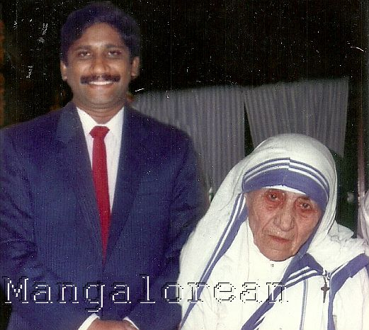 Dr.D.Jayanand and Mother Teresa