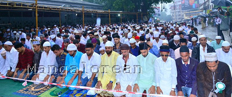 Muslim Fraternity Celebrates Eid-Ul-Fitr in City Amid Rain (45)