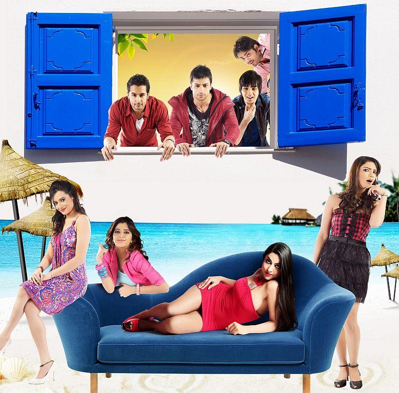 Rishank Tiwari,Shaleen Bhanot,Rahul Suri,Harshvardhan Joshi,Samiksha Bhatnagar,Nisha Gulati,Ritika Gulati,Pooja Banerjee in film Love Ke Funday