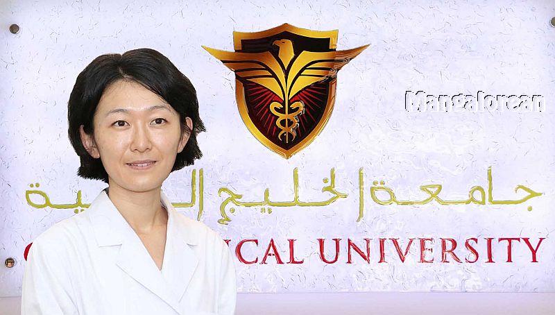 Thumbay-Hospital-Ajman-Hosts-Japanese-MBBS-Student