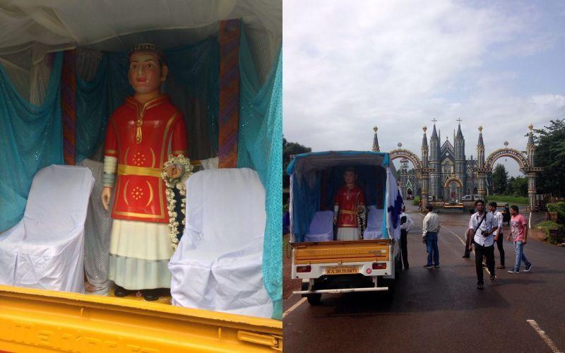 image001sasthan-parishioners-handover-st-lawrence-statue-to-attur-20160714