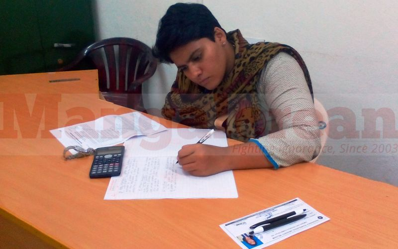 Roopa Writing Exam