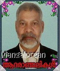 Sasidharan Pillai