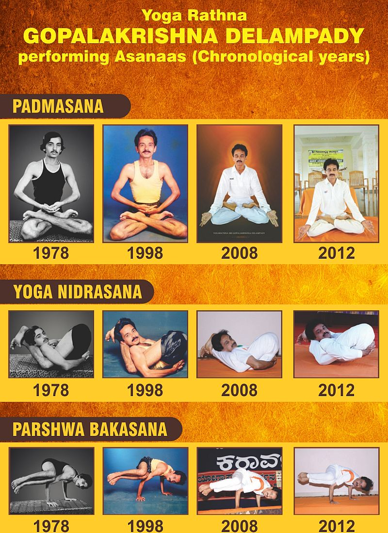 Different Years of My Yoga