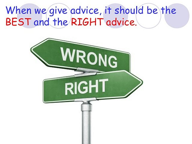 right-advice
