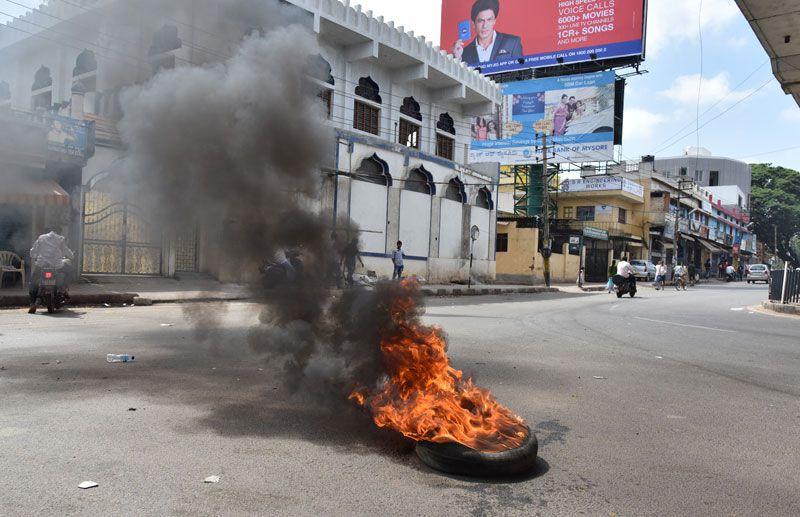 cauvery-protest-bangalore