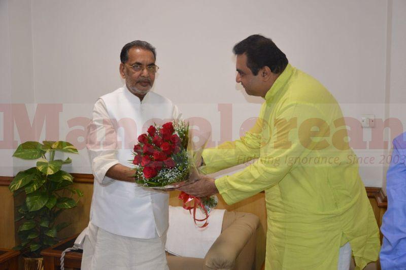 pramod-madhwaraj-visit-union-minister