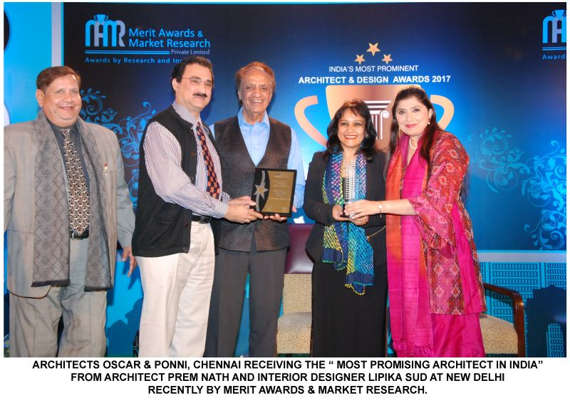 77th Award Oscar And Ponni Architects Bags Indias Most Promising Architect