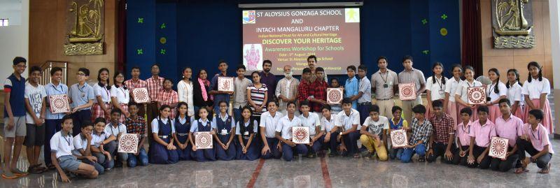 St Aloysius Gonzaga School Joins Intach In Awareness