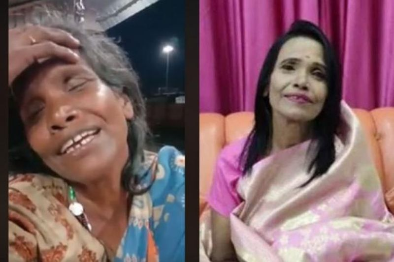 Extreme Makeover! Beggar Woman Singing 'Ek Pyaar Ka Nagma
