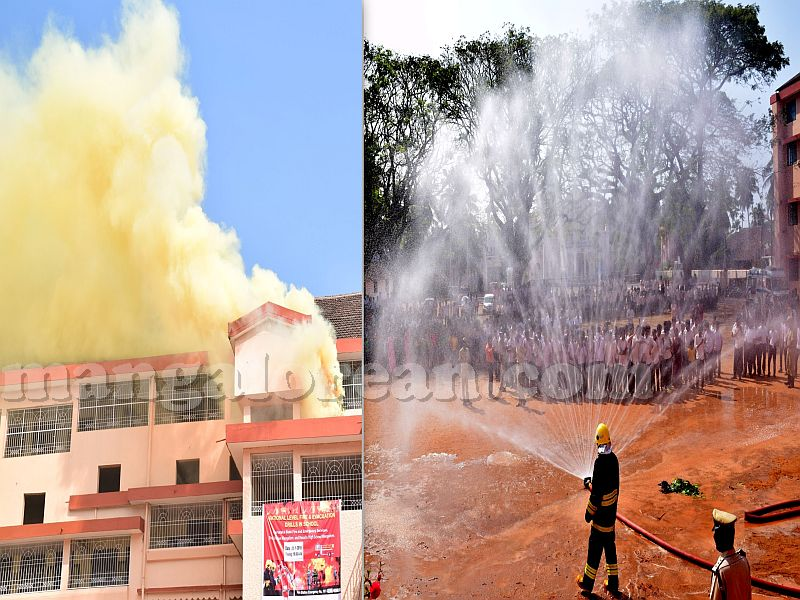 National-level Fire and Evacuation Drill Held at Rosario