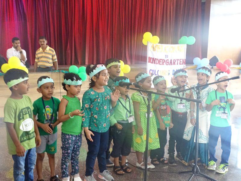 Colours Day Celebration At St Aloysius Gonzaga School
