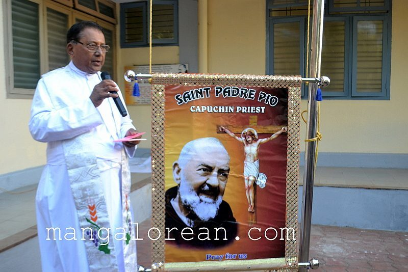 Flag Hoisting Mark Start of Novena and Anniversary Celebrations of