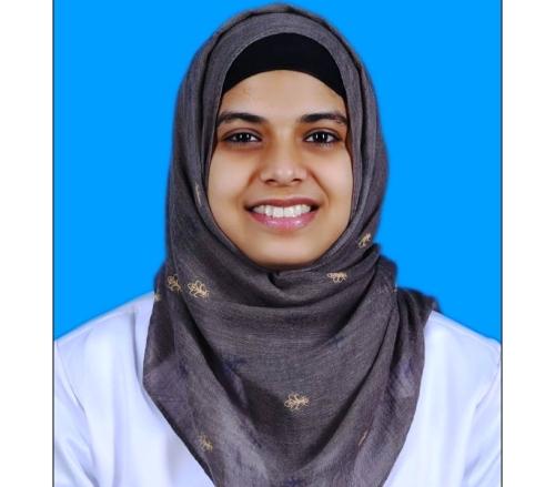 Dr Salma Suhana selected for Prestigious 2019 International