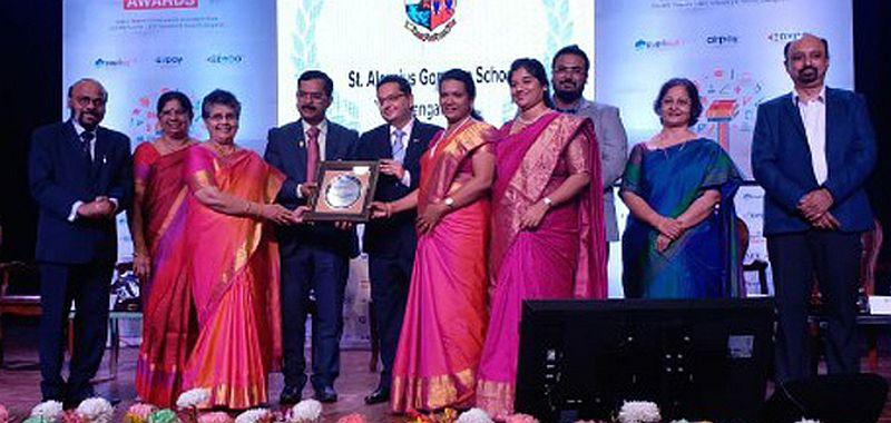 St Aloysius Gonzaga School Bags Parent Of Innovation Award