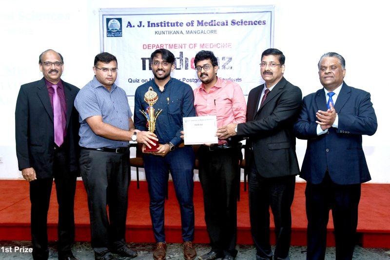 Inter-Medical collegiate 'PG General Medicine Quiz' Contest 2019 at