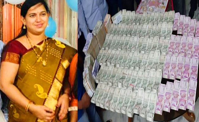 Image result for 93 Lakhs Cash, Jewellery Found At Home Of Telangana Officer Who Won Award