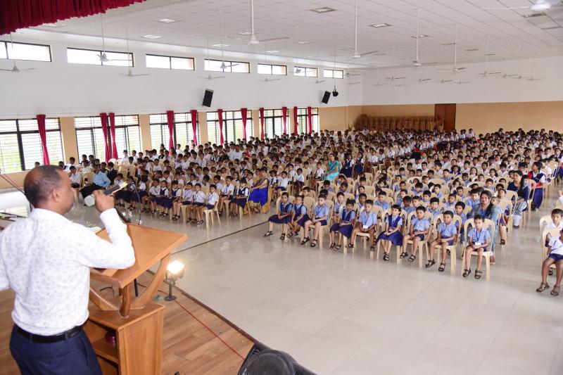 Feast Day of St Ignatius Loyola at St Aloysius Hr Primary
