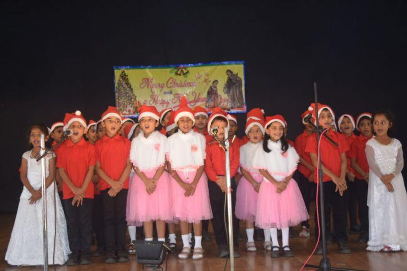 Christmas Celebration at St Aloysius Higher Primary School - Mangalorean.com